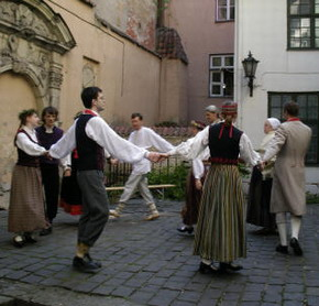 Women Dancing Latvian 85