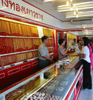 Thailand gold export